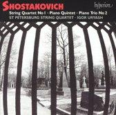 Shostakovich: Quartet No 1, Piano Quintet,