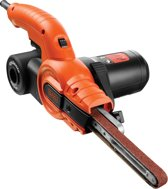 BLACK+DECKER - KA900E bandschuurmachine - Powerfile met Cyclonic Action stofopvang - 350 W