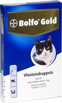 Bayer Bolfo Gold 80 Anti vlooienmiddel - Kat - > 4