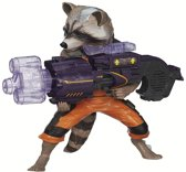 GUARDIANS OF THE GALAXY ROCKET RACCOON WITH SPINNING BLASTER