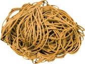 Elastiek - naturel - diameter 57mm - breedte 1,5mm - zak 500gram