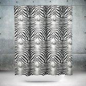 Roomture - douchegordijn - Zebra - 180 x 200