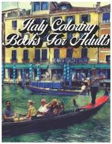 Italy Coloring Books for Adults