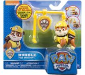 Paw Patrol pull back pup - Rubble