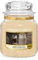 Yankee Candle Sweet Maple Chai Medium
