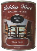 Golden Wave Teak Olie - 1 l