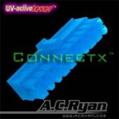 AC Ryan Connectx™ ATX20pin Female - UVBlue 100x Blauw