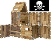 Fantasy Fort - Huttenbouw pakket - PIRATEN EDITIE (47-dlg.)