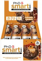PhD - Smart Bar - Caramel Crunch (12x64g)