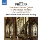 The Sarum Consort - Peter Philips Cantiones Sacrae Quin