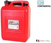 Continental jerrycan benzine 10 liter met schenktuit