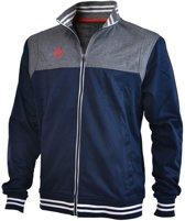 Brabo Tech Jacket  Trainingsjas - Maat XXL  - Mannen - blauw