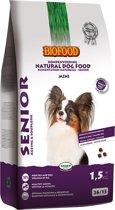 Biofood Senior Small Breed - Hondenvoer - Gevogelte 1.5 kg