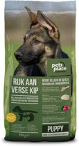 Pets Place Naturals Puppy Large Breed Kip - Hondenvoer - 10 kg