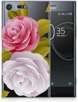 Sony Xperia XZ Premium Uniek TPU Hoesje Roses