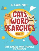 Cats Word Searches