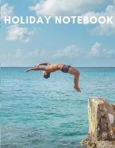 Holiday Notebook: A Pocket-Sized Notebook for writing and recording holiday memories. For boys or girls 5-14. 120 lined pages