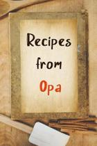 Recipes From Opa