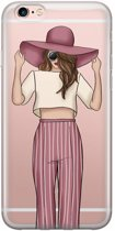 iPhone 6/6s transparant hoesje - Summer girl