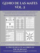 Cuadernos Preescolares Imprimibles (Genio De Las Mates Vol. 2)