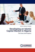 Developing an Islamic Capital Market in Nigeria