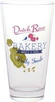 Dutch Rose Longdrinkglas Bakery - 6 stuks