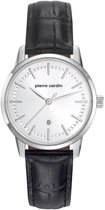 Pierre Cardin PC901862F01 - Horloge - Leer - Roestvrij staal