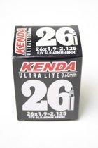 Kenda Ultralite - Binnenband Fiets - Frans Ventiel - 48 mm -  26 x 1.9 - 2.125