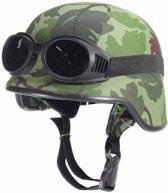 Army chopper motorhelm desert camou