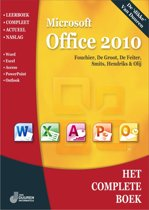Het complete boek microsoft office 2010