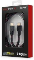 Bigben - 1.4 HDMI kabel - 2 m - Zwart