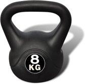 vidaXL - Kettlebell - 8 kg - Zwart