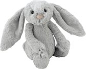 Jellycat - Silver - Medium - Bashful Bunny
