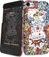 i-Paint cover Tattoo - voor iPhone 7/8