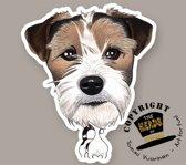 Magneet Hond Jack Russel Terrier