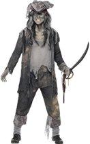Zombie piraten kostuum voor heren - Halloween/ horror verkleedkleding 56-58 (XL)