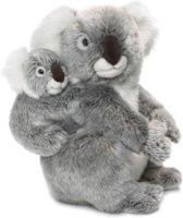 Wereld Natuur Fonds WNF Knuffel Koala moeder en kind 30 cm