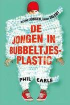 DE JONGEN IN BUBBELTJES-PLASTIC