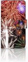 Huawei P20 Boekhoesje Design Vuurwerk