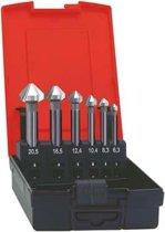 Kopverzinkboren-set WN lang 6,3-20,5mm