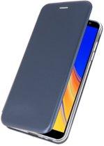 Navy Slim Folio Case voor Samsung Galaxy J4 Plus