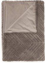 Talin Plaid 150x200 Grey
