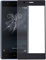 Let op type!! Front Screen Outer Glass Lens for Nokia 3(Black)