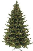Triumph Tree Sherwood Kunstkerstboom - 215 x 135 cm - Groen - 288 warmwitte LEDs