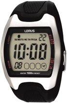Lorus R2327CX9 - Horloge - 40 mm - Kunststof - Zwart