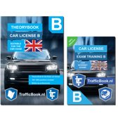 CBR Car Theory Book Dutch Driving License 2018 + Practical book 2018