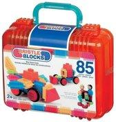 Bristle Blocks Case - Nopper Bouwspeelgoed - 85 stuks – Grote Koffer Bouwen