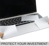 Macbook Sticker - Palmrest en trackpad protector voor NEW MacBook PRO 15 inch 2016/2017 - Zilver