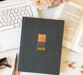 Purpuz Planner 2019  - The Original - Agenda 2019 | Stel. Plan. Haal je Doel met dé Purpuz | Planner | Agenda 2019 & Life Coach in één.