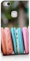 Huawei P10 Lite Standcase Hoesje Design Macarons